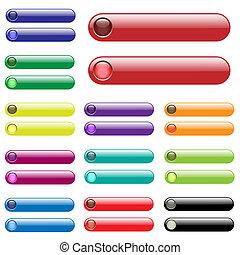 tela, barras, colorido