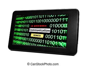 tela, comunicación