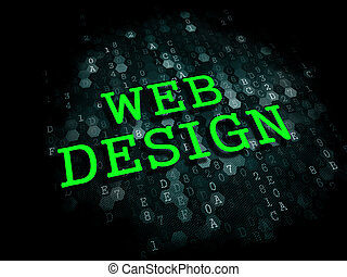 tela, design., internet, concept.