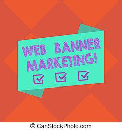 tela, estilo, concepto, poster., plano, color, texto, tira, doblado, embed, página, significado, anuncio, anuncio, blanco, marketing., escritura, bandera, entails, foto