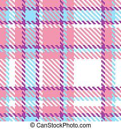 tela jugada, patrón, seamless, ilustración, fondo., vector