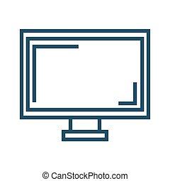 tela, monitor computador