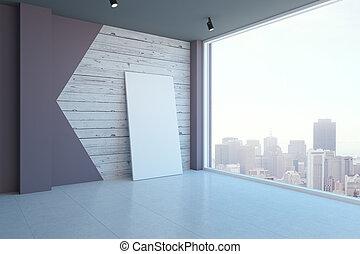 tela, stanza moderna