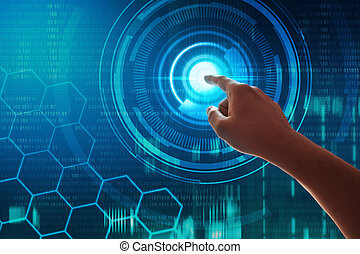 tela toque, tecnologia