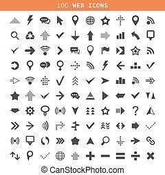 tela, un, icono