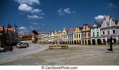Telc city. A UNESCO World Heritage Site.