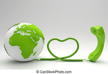 telco, 概念, 緑