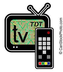 Tele tdt vision - Creative design of tele tdt vision
