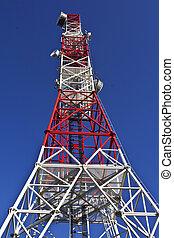 telecom, antena