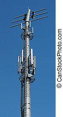 Telecom antenna - Transmitters and antennas on telecom tower