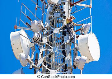 telecom, man