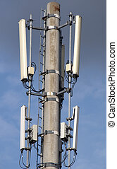 telecommunication - High resolution image. Detail of a ...