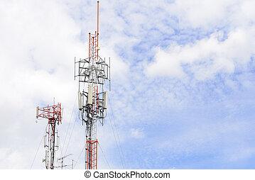 Telecommunication or Antenna tower
