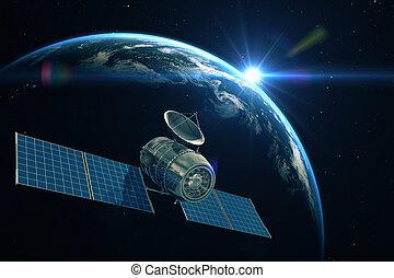 Telecommunication satellite