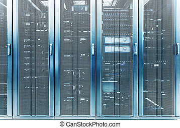 telecommunication server in data center