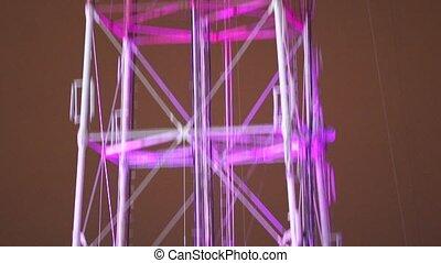 Telecommunication TV antenna pan - Pan of telecommunication...
