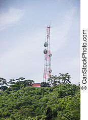 Telecommunications tower, Radar and Communication Tower