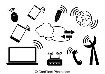 telecomunication, signal
