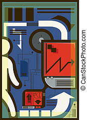 telecomunicazione, illustrazione