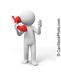 telefon, érintkezés