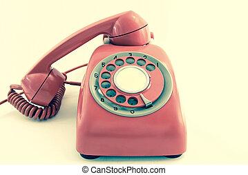 telefon, dávný