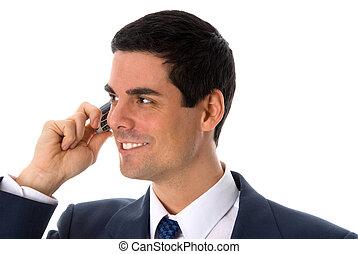 telefon, glücklich