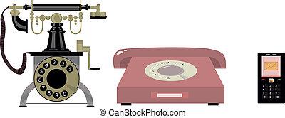 telefon, historia