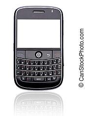 telefon, isoleret, raffineret