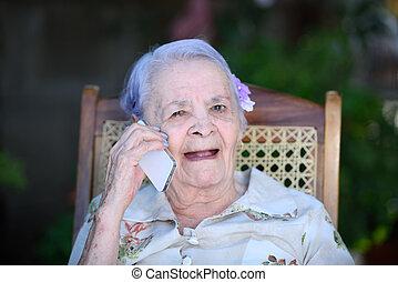 telefon, nagyanyó