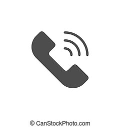 telefon, pojęcie, rozmowa telefoniczna, telefon, ikona
