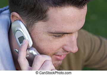 telefon, voják