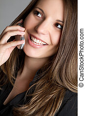 telefon woman