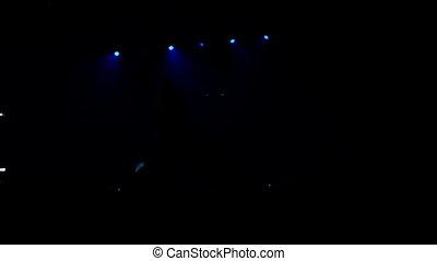 telefon, wystawa, koncert