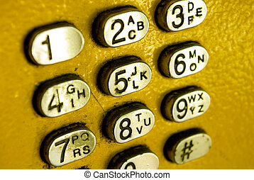 telefone, botões