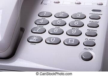 telefone, close-up