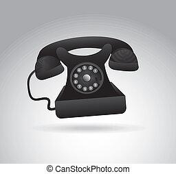 telefone, discando