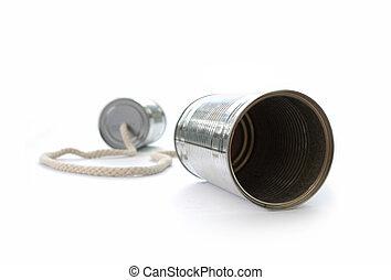 telefone, lata lata