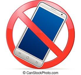 telefone móvel, proibição