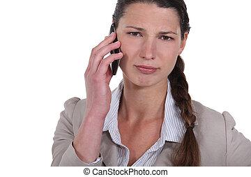 telefone, mulheres
