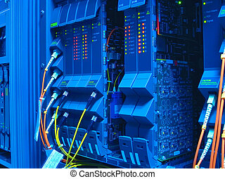 telefone switchboard, com, fios