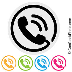 telefoner. ikon