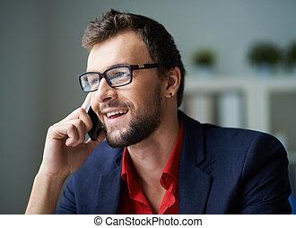 telefoner., klient
