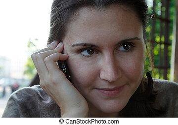 telefonera kvinna