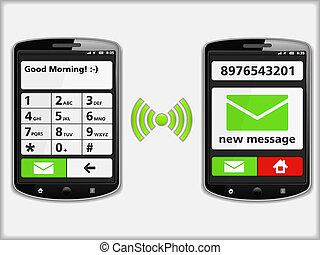 telefoni mobili, sms
