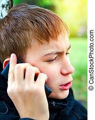 telefono, adolescente