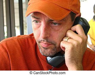 telefono, cattivo, chiamata