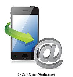 telefono, collegamento, internet