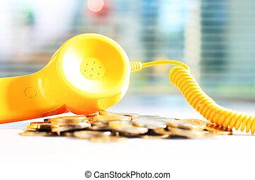 telefono, giallo