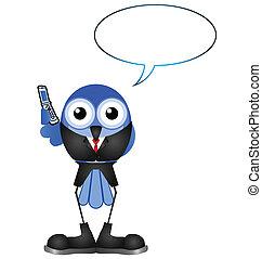 telefono mobile, businessperson