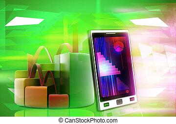 telefono mobile, settori